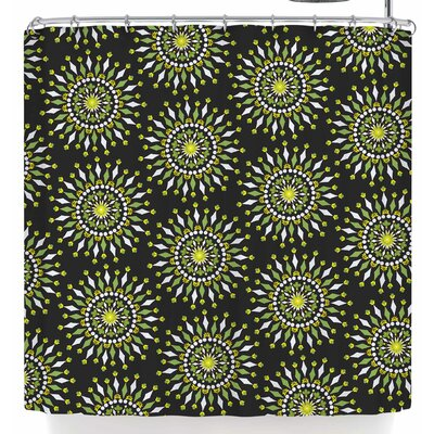 Neelam Kaur Floral Mandala Shower Curtain