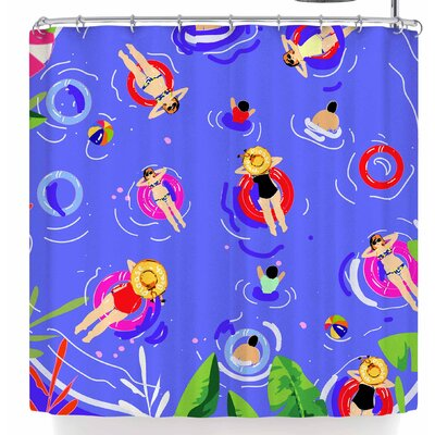 Mukta Lata Barua Pool Party Shower Curtain