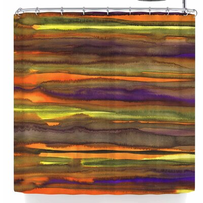 Miranda Mol Tropical Sunset Shower Curtain