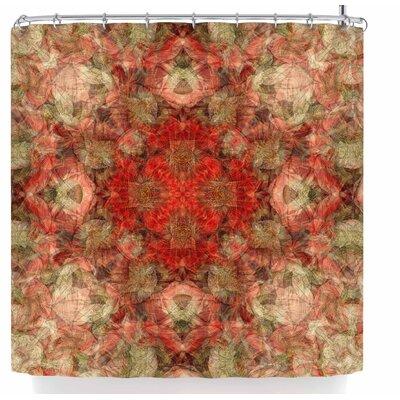 Justyna Jaszke Mandala Love Art Shower Curtain
