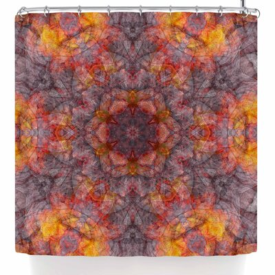 Justyna Jaszke Mandala Art Shower Curtain