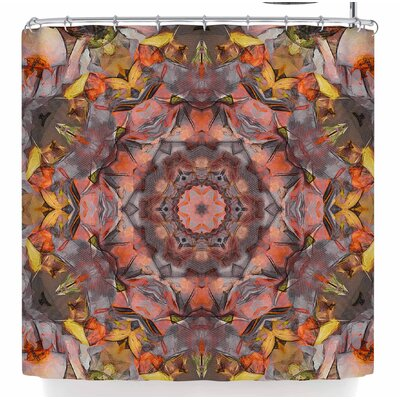 Justyna Jaszke Mandala Peace Shower Curtain