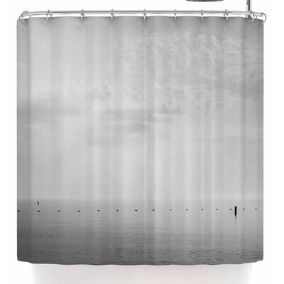 Mary Carol Fitzgerald Cali Calm Shower Curtain