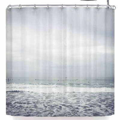 Mary Carol Fitzgerald Dawn Patrol California Shower Curtain