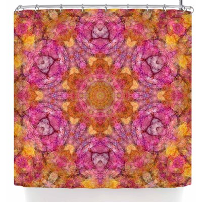 Justyna Jaszke Mandala Joy Shower Curtain
