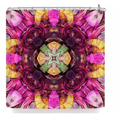 Justyna Jaszke Mandala Life Art Shower Curtain