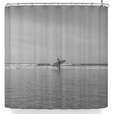 Mary Carol Fitzgerald Soul Space Surfer Shower Curtain