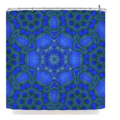 Justyna Jaszke Mandala Shower Curtain