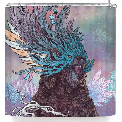 Mat Miller Journeying Spirit Shower Curtain