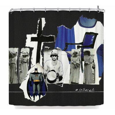 Jina Ninjjaga Batman Shower Curtain