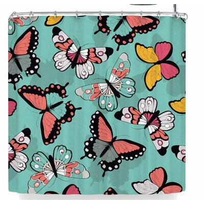 Bluelela Butterflies 003 Shower Curtain