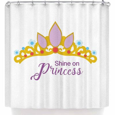 Nl Designs Shine On Princess Shower Curtain