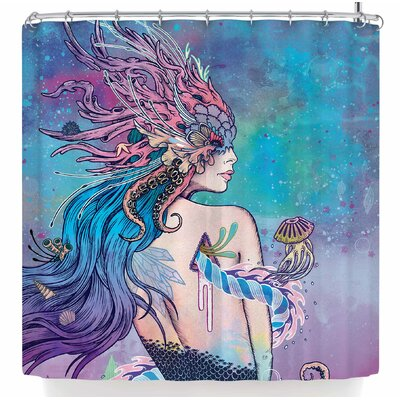 Mat Miller The Last Mermaid Shower Curtain