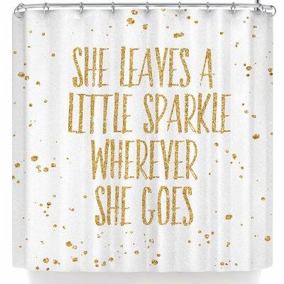 Nl Designs Sparkle Shower Curtain