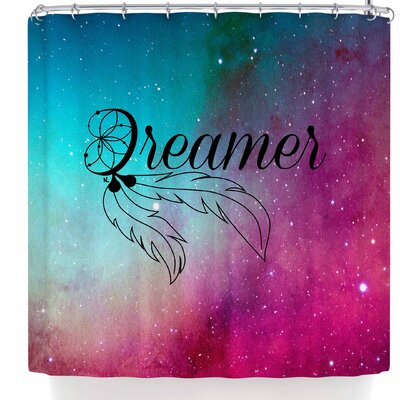 Nl Designs Dream Catcher Galaxy Shower Curtain