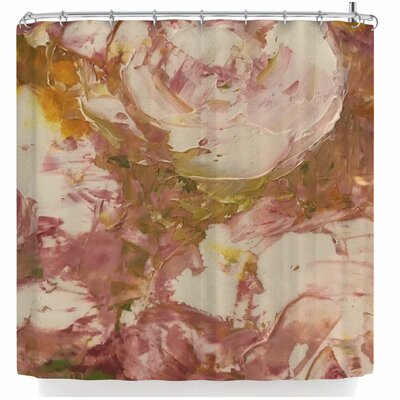 Jeff Ferst White Roses Shower Curtain
