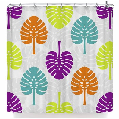 Julia Grifol Tropico Shower Curtain