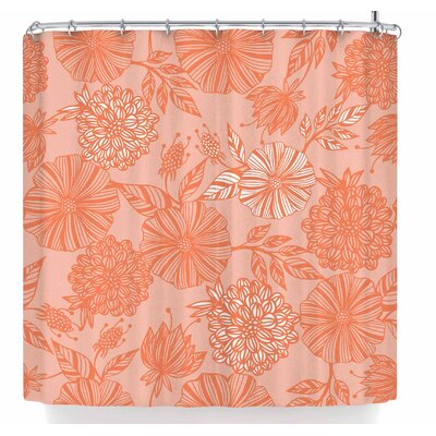 Julia Grifol Romantic Garden Shower Curtain