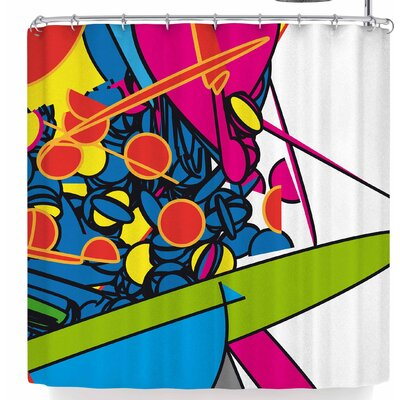 Frederic Levy-Hadida Pop Overload 2 Shower Curtain