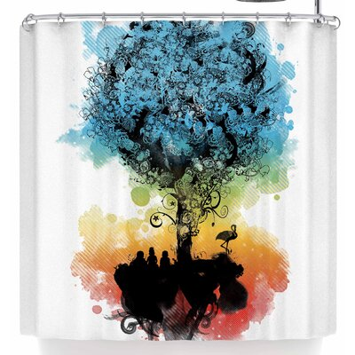 Frederic Levy-Hadida Magical Tree Shower Curtain