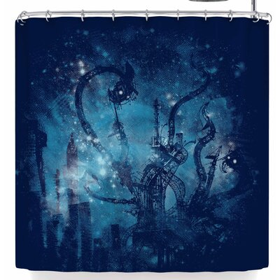 Frederic Levy-Hadida Mad Factory Shower Curtain