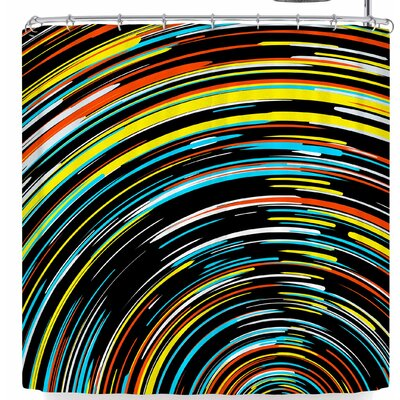 Frederic Levy-Hadida Swoosh 4 Shower Curtain