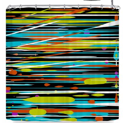 Frederic Levy-Hadida Speed Shower Curtain