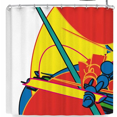 Frederic Levy-Hadida Pop Overload 3 Shower Curtain