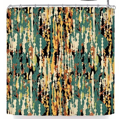 Frederic Levy-Hadida Drip Drops Shower Curtain