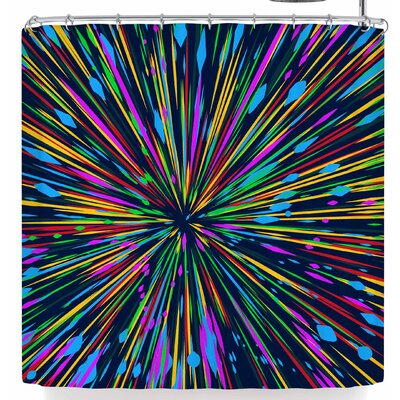 Frederic Levy-Hadida Lignes De Fuite 1 Shower Curtain