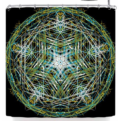 Frederic Levy-Hadida Mandala 3 Shower Curtain