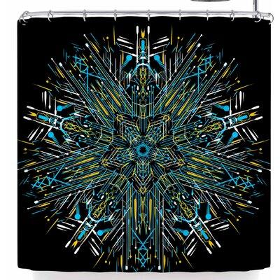 Frederic Levy-Hadida Mandala 2 Shower Curtain