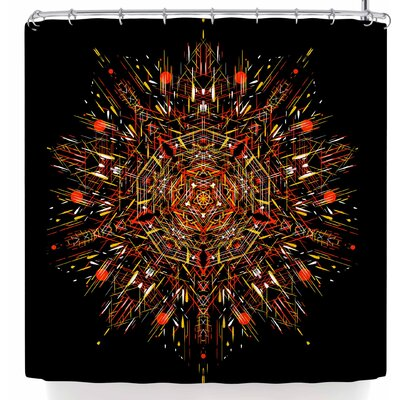 Frederic Levy-Hadida Mandala 1 Shower Curtain