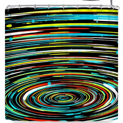 Frederic Levy-Hadida Concentric Spedd Shower Curtain