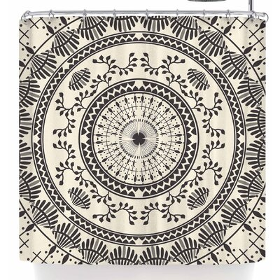 Famenxt Ethnic Mandala Shower Curtain