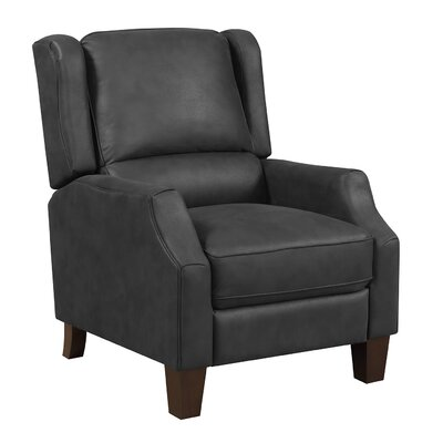 Stockwood Manual No Motion Recliner Upholstery: Midnight Grea