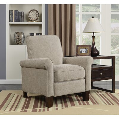 Phillipsburg Manual No Motion Recliner Upholstery: Taupe