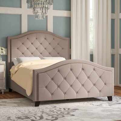 Elora Upholstered Panel Bed Size: Queen
