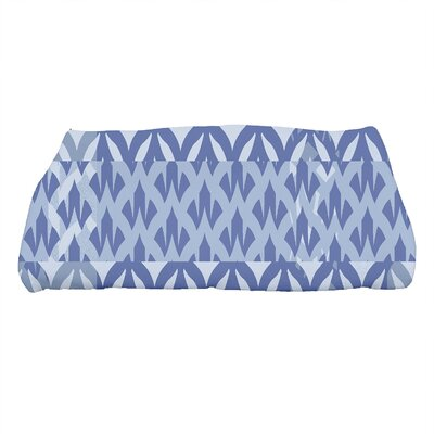 Harriet Geometric Print Bath Towel Color: Royal Blue