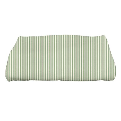 Monroe Ticking Stripe Bath Towel Color: Green