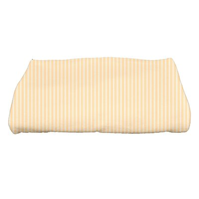 Monroe Ticking Stripe Bath Towel Color: Yellow
