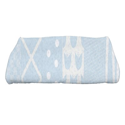 Monroe Pattern Stripe Bath Towel Color: Light Blue