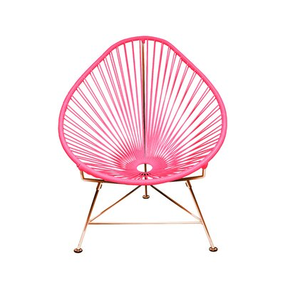 Svendsen Acapulco Chair Finish: Pink/Copper