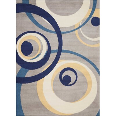 Folden Gray Area Rug Rug Size: Rectangle�710 x 910