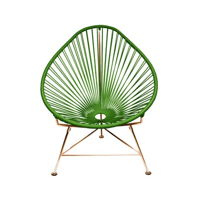 Svendsen Acapulco Chair Finish: Cactus/Copper