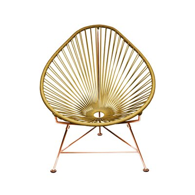 Svendsen Acapulco Chair Finish: Gold/Copper