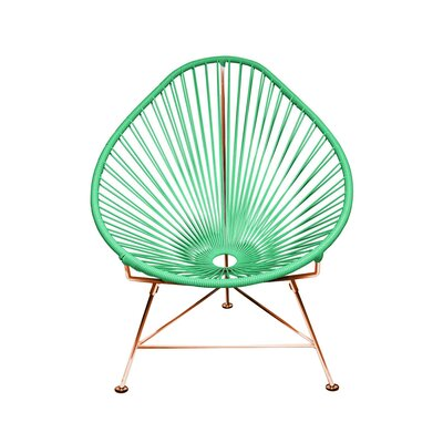 Svendsen Acapulco Chair Finish: Mint/Copper