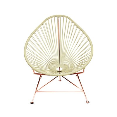 Svendsen Acapulco Chair Finish: Ivory/Copper