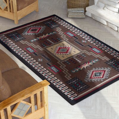 Busselton Brown Area Rug Rug Size: Rectangle 3 x 4