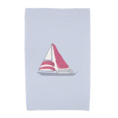 London Beach Towel Color: Blue